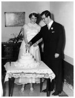 Virgilio Barco and Maria Carolina Isakson´s wedding, Cùcuta, 15/6/1950. Photo: S.I.