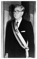 Virgilio Barco wearing the Presidential sash the day of his inauguration as President of Colombia. Bogotá, 07/08/1986. Photo: S.I.